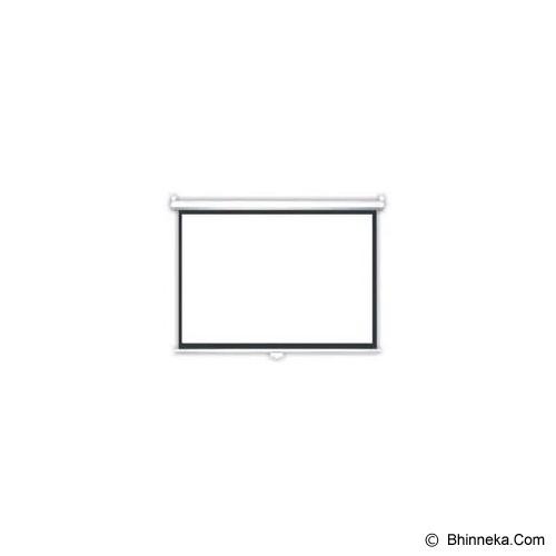 BRITE Manual Pull Down 120 inch [MAS-3030] - Proyektor Screen Manual Pull Down